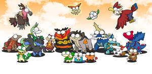 isshu pokemon BEAST 5 by c4tman