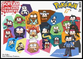 SCREAM of ISSHU PokemonTrainer by c4tman