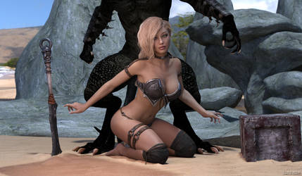 Prey: Sobek's Girl (Standard) by winterwolf797