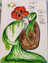 Deadly Sin character: ENVY by MissHellOnHeels