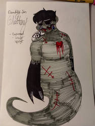 Deadly Sin character: GLUTTONY by MissHellOnHeels