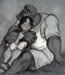 A Very Cuddly Sadist by princefala