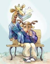 No Moose Is Good Moose by princefala