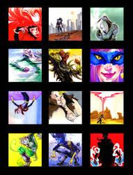 X-Men + Brotherhood Vignettes by princefala
