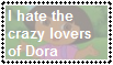 (Stamp) I hate the Dora lovers by PinkYazFlyChan