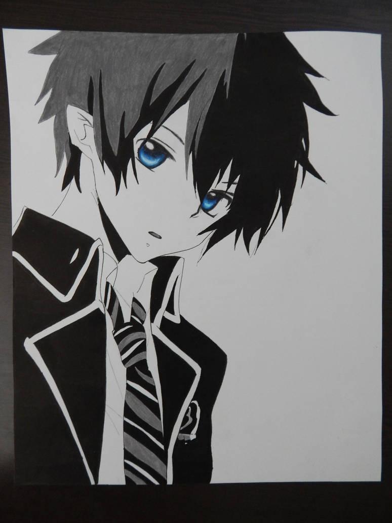 Okumura Rin by Mukkun   Blue exorcist anime, Anime