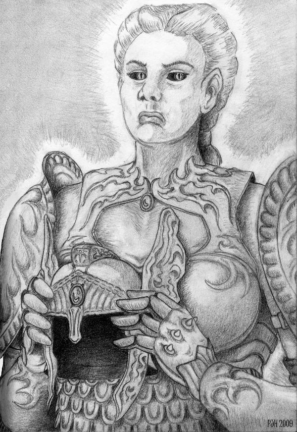 Golden Saint by DeepWoodian