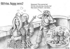 Oblivion: Happy news? by DeepWoodian