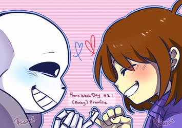 [Frans Week 2019] Day 2 : (Pinky) Promise! by RyuuseiRissu