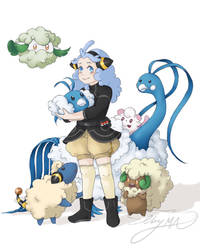 Pokemon Trainer Marilyn by Elby-manga-addicted