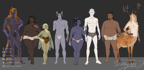 The Dragon's Coven - body overview by Elby-manga-addicted