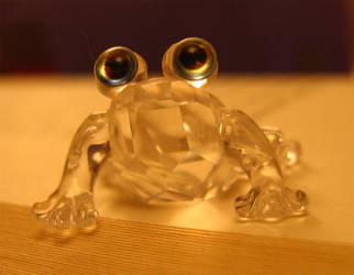 Crystal Frog by ElaineG
