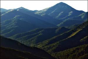 Sierra Blanca From Monjeau by jensaarai