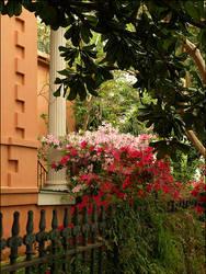 GD - Column and Flowers by jensaarai