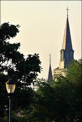 Cathedral From Afar by jensaarai