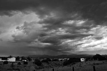 Santa Fe Storm by jensaarai