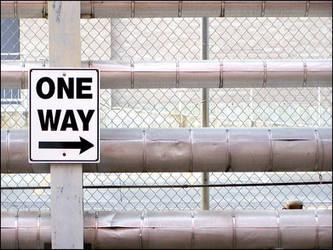 One Way Pipes by jensaarai