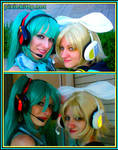 Vocaloid Headphones by pixiekitty