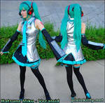 Hatsune Miku - Vocaloid by pixiekitty