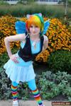 Rainbow Dash Chillin by pixiekitty