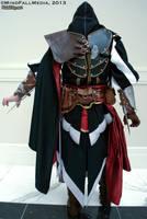 Back of Ezio Cosplay by pixiekitty