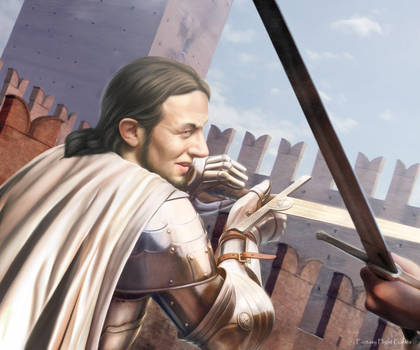 AGOT: Ser Gerold Hightower by Thaldir