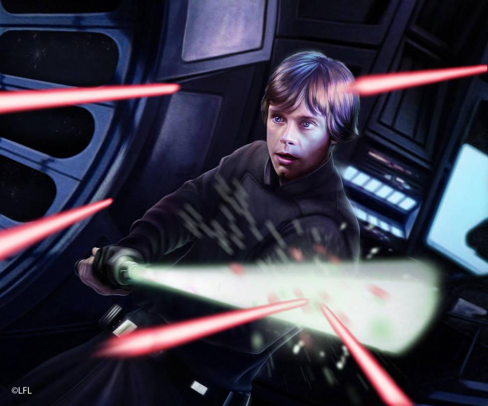 Star Wars LCG: Lightsaber Deflection by Thaldir