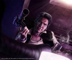Star Wars:Han's Heavy Blaster Pistol by Thaldir