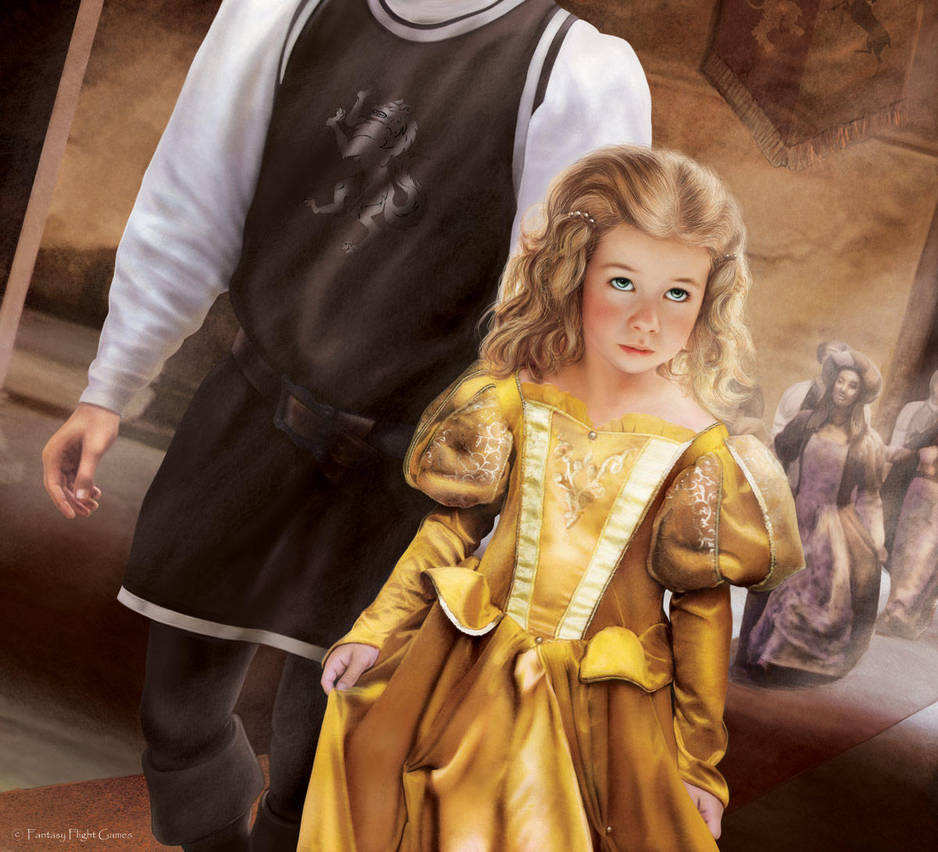 A Game of Thrones LCG: Myrcella Baratheon by Thaldir