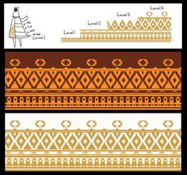Journey Cloak Embroidery Design free to use by VicZar-Skiekatsu