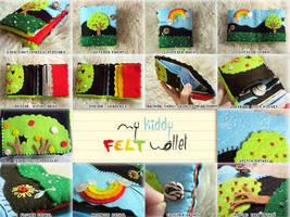 Felt Wallet by aneesah