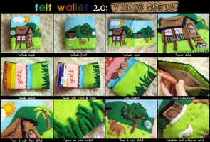 Felt Wallet 2.0 by aneesah