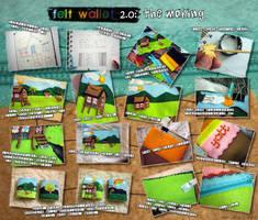 Felt Wallet 2.0 extras by aneesah