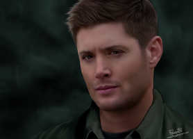 Dean Winchester_3 by Rousetta