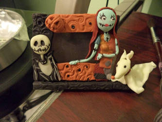Nightmare before Christmas small picture frame by elenhpaine