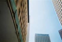 Downtown Building Cluster: Two by DMitchell1985