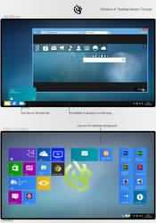 Windows 8 Desktop Version Concept by lgkonline