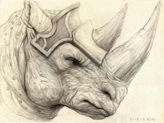 Rhinotaur by Kimsuyeong81