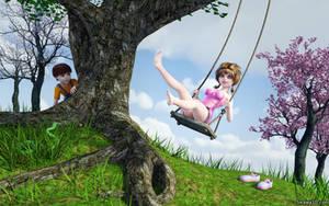 The Swing by Swawa3D