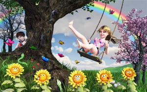 The Swing (revamped) by Swawa3D