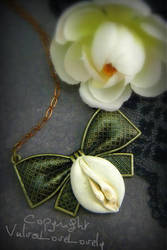 Brass Ribbons and Sweetness by VulvaLoveLovely