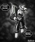 Black Lantern Punky Skunk by Parlinten