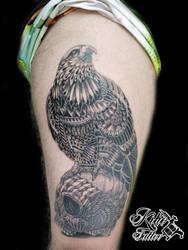 Tattoo inspired by BioWorkz by EdilsonR74