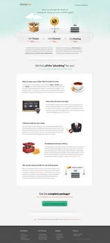 PromoHosting landing-page by ThemeFuse