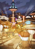 Planet51 Online. AmusementPark by javieralcalde