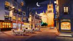 Hihola. Salamanca at night by javieralcalde