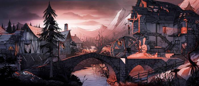 Castlevania Village. by javieralcalde