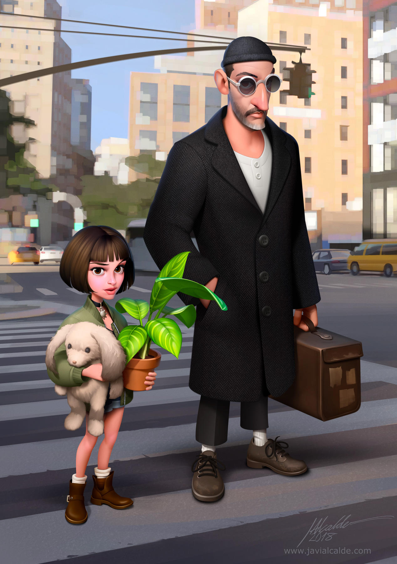 Leon the Professional. by javieralcalde