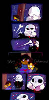 Underfell comic by simpleoddities
