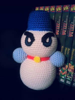 Chilly Amigurumi by Wykked-As-Syn